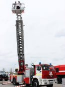 Спасательная люлька пожарной автолестницы МАГИРУС ВИТАНД с сочлененным коленом на Комплексной Безопасности 2021
