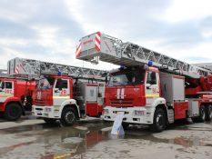 Пожарные автолестницы ВИТАНД МАГИРУС стандартного исполнения и с сочлененным коленом на Комплексной Безопасности 2021