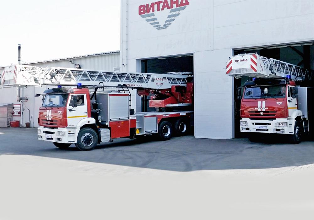 пожарная техника, автомобили, ВИТАНД, МАГИРУС, пожарные автолестницы, пожарные пеноподъемники